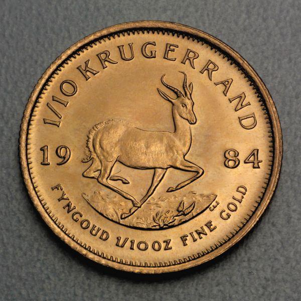 krГјgerrand 1 10