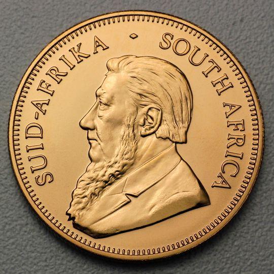 Krügerrand verkaufen / Ankauf von Kruegerrand Goldmünzen
