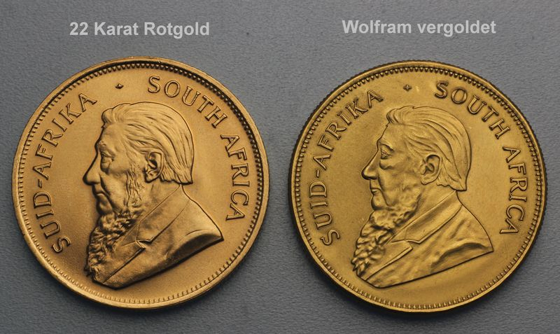 Krügerrand Fälschungen Falsche Krügerrand Münzen Imitationen